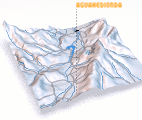 3d view of Agua Hedionda