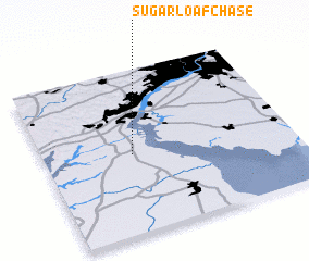 3d view of Sugar Loaf Chase