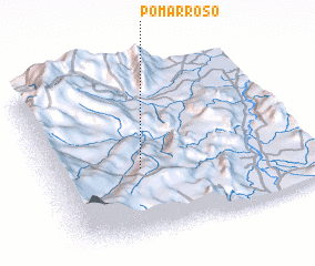 3d view of Pomarroso