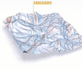 3d view of San Isidro