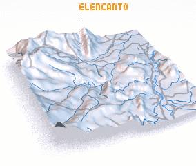 3d view of El Encanto