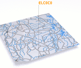 3d view of El Coco