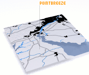 3d view of Point Breeze