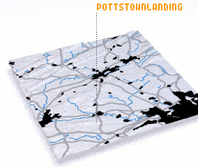 3d view of Pottstown Landing