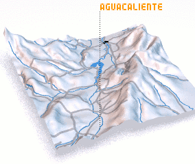 3d view of Aguacaliente