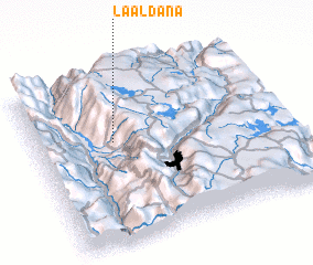 3d view of La Aldaña