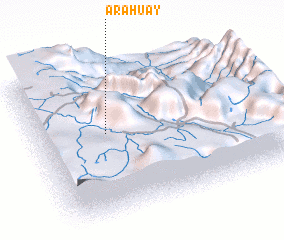 3d view of Arahuay