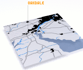 3d view of Oakdale