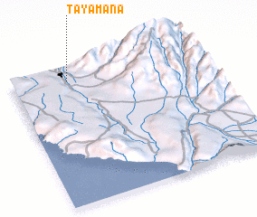 3d view of Tayamana