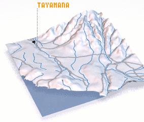 3d view of Tayamana