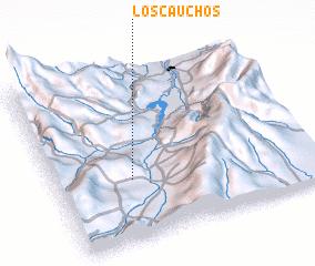 3d view of Los Cauchos
