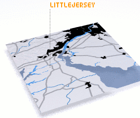 3d view of Little Jersey
