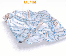 3d view of La Uribe