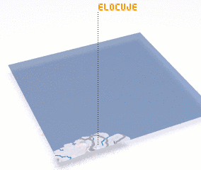 3d view of El Ocuje