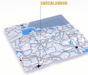 3d view of San Salvador