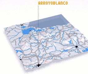 3d view of Arroyo Blanco