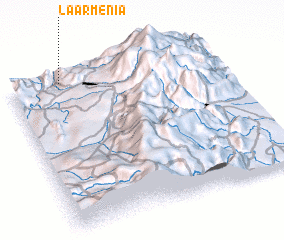 3d view of La Armenia