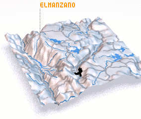 3d view of El Manzano