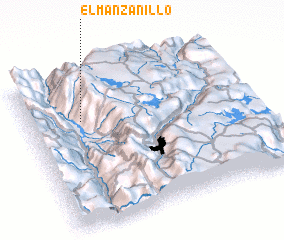 3d view of El Manzanillo