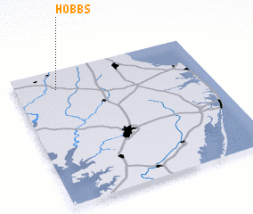 3d view of Hobbs