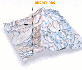 3d view of La Profunda