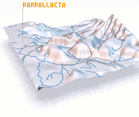 3d view of Pampallacta
