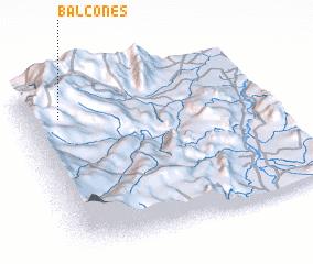 3d view of Balcones
