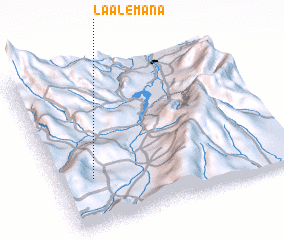 3d view of La Alemana