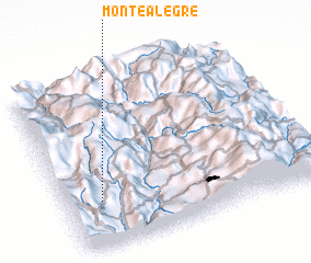 3d view of Montealegre