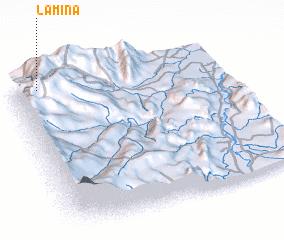 3d view of La Mina