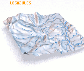3d view of Los Azules