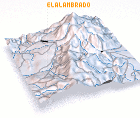 3d view of El Alambrado