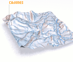 3d view of Cajones