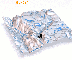 3d view of El Hoya