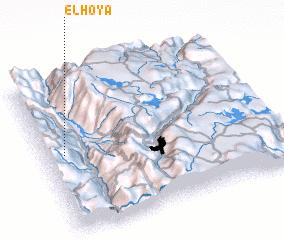 3d view of El Hoya