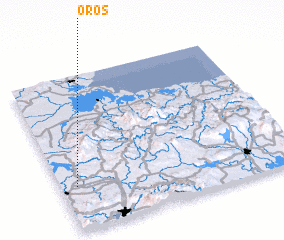 3d view of Oros