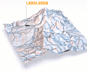 3d view of La Holanda