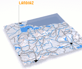 3d view of Landíaz