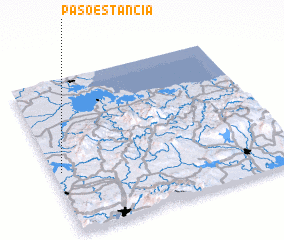 3d view of Paso Estancia