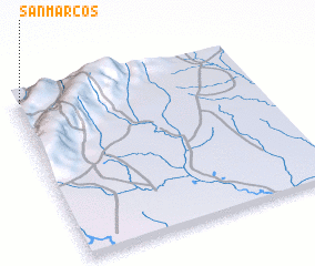 3d view of San Marcos