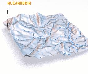 3d view of Alejandría