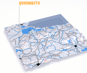 3d view of Quemadito