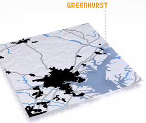 3d view of Greenhurst