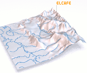 3d view of El Café