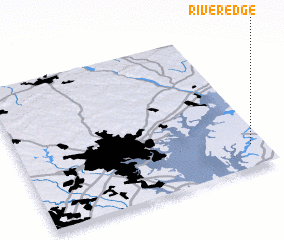 3d view of River Edge