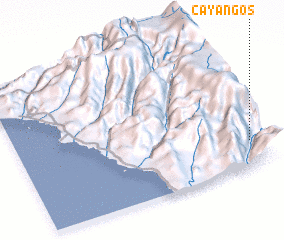 3d view of Cayangos