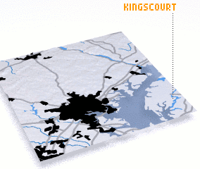 3d view of Kings Court