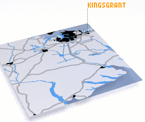 3d view of Kings Grant