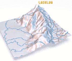 3d view of La Selva