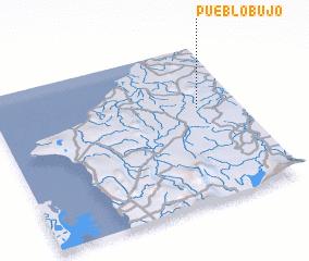 3d view of Pueblo Bujo